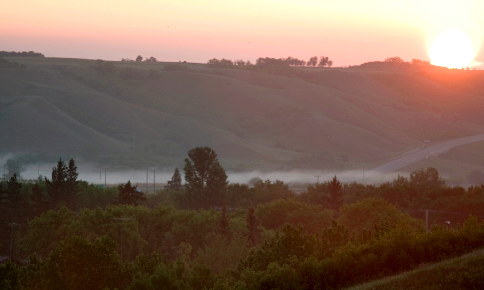 Misty morning in the valley