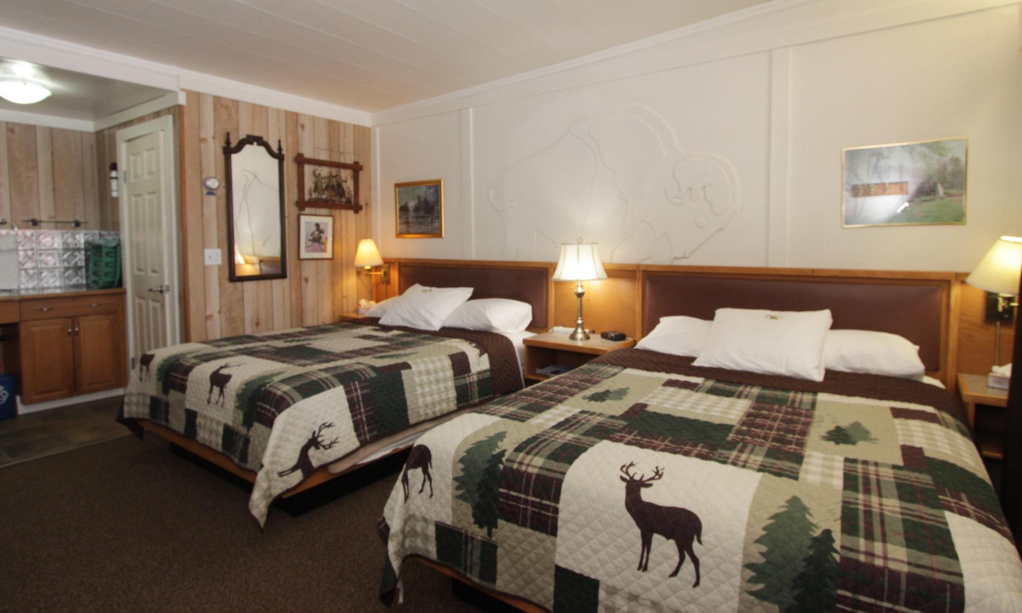 Room 11 beds